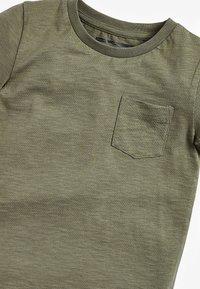 Next - SHORT SLEEVE - Camiseta básica - khaki - 2