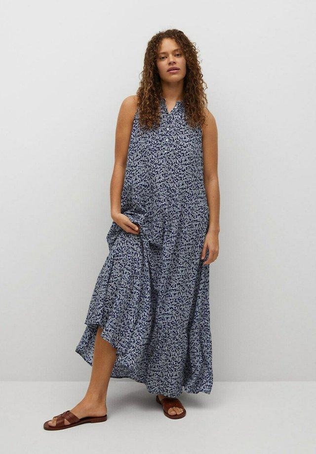 Maxi šaty - bleu