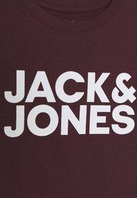 Jack & Jones Junior - JJECORP LOGO TEE CREW NECK - Print T-shirt - port royale - 3