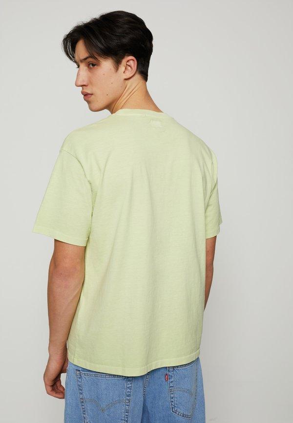 Levi's® VINTAGE TEE - T-shirt basic - greens/żÓłty neon Odzież Męska QQLB