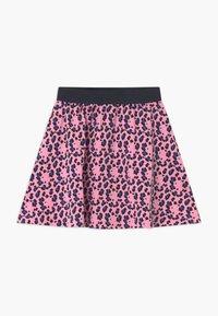 Lemon Beret - SMALL GIRLS - A-line skirt - prism pink - 1