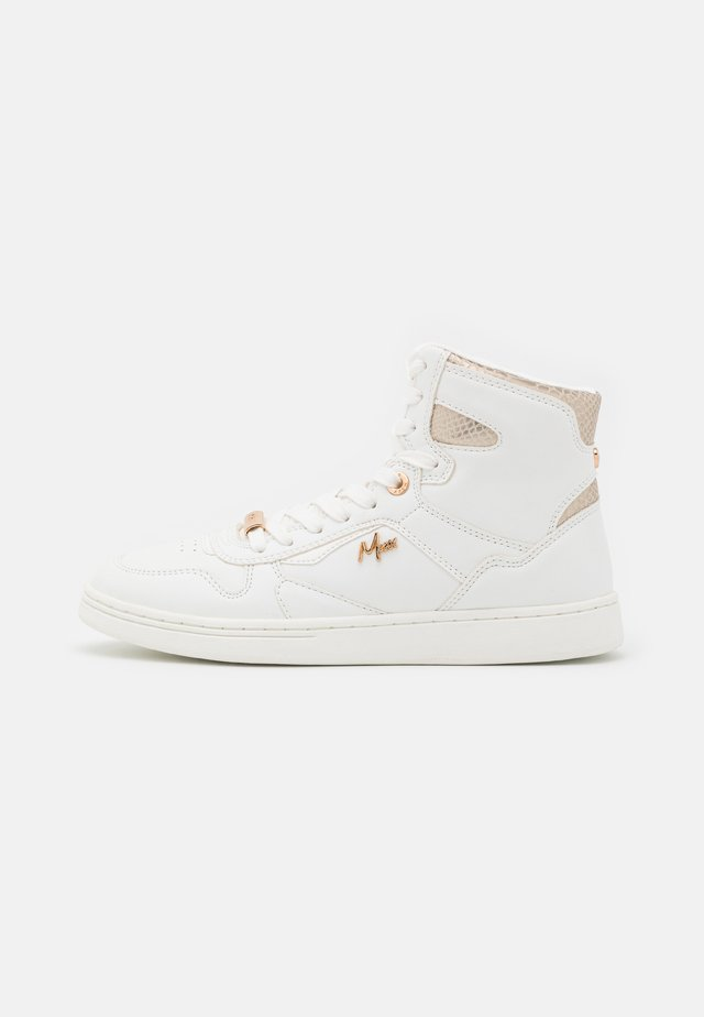 GINNY - Sneakers high - white/gold