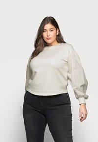 Vero Moda Curve - VMLILI - Sweatshirt - birch - 0
