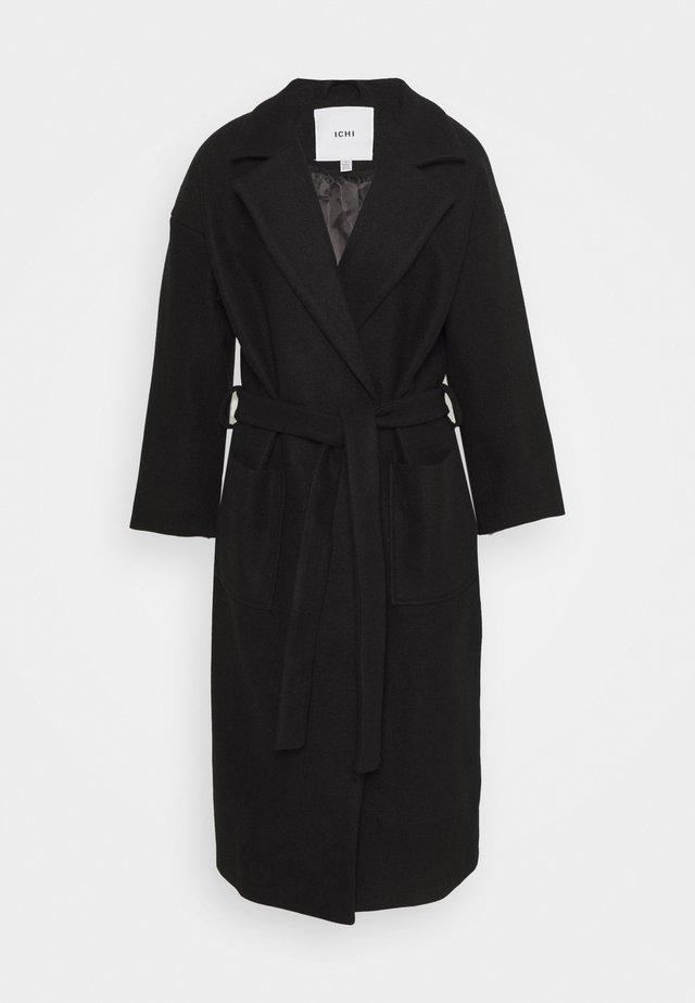JANNET  - Zimní kabát - black