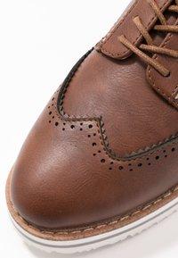 Anna Field Wide Fit - Zapatos de vestir - cognac - 2