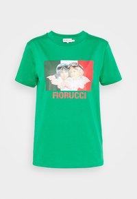 Fiorucci - RACING ANGELS TEE - Triko spotiskem - green - 4