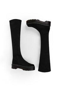 MIM Shoes - TEAM ROCKET - Plateaulaarzen - black - 1