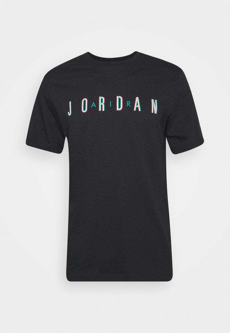 Jordan SPORT DNA CREW - T-Shirt print - white/neptune green/weiß eeiJCD