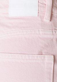 Weekday - ROWE SPLIT - Jeans straight leg - light pink - 6