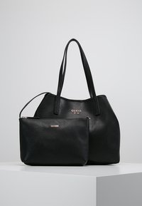 Guess - VIKKY TOTE SET - Sac à main - black - 6