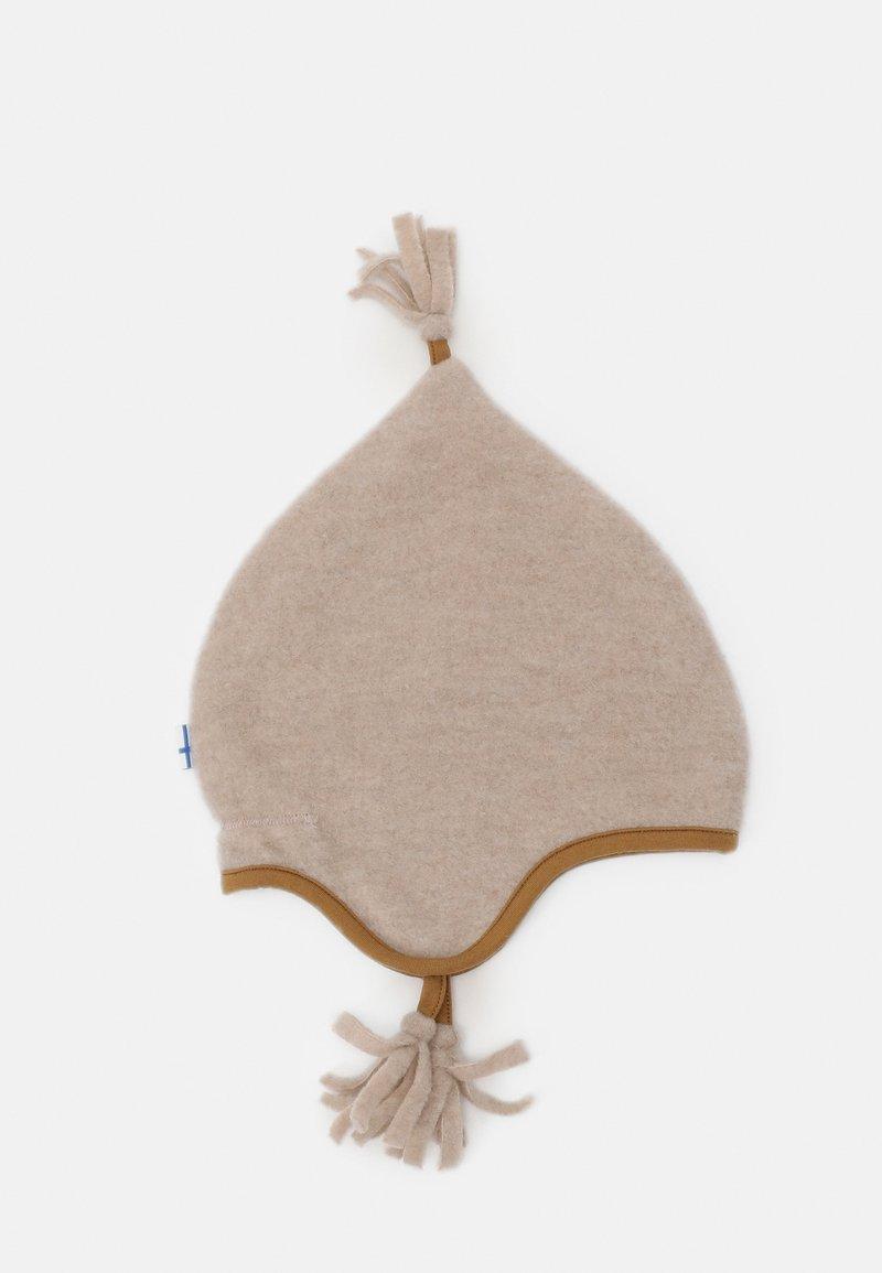 Finkid - PIPO UNISEX - Čepice - pebble/cinnamon