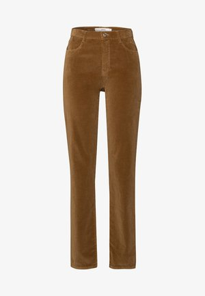STYLE CAROLA - Trousers - cognac