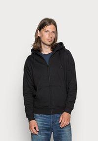 Urban Classics - ZIP HOODY - Zip-up sweatshirt - black - 0