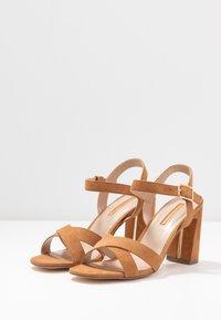 Dorothy Perkins - SELENA BLOCK  - High heeled sandals - tan - 4