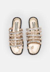 River Island - T-bar sandals - rose gold - 5