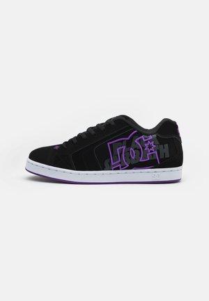 SABBATH NET UNISEX - Sneakers basse - black/purple