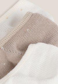 OYSHO - 3 PAIRS - Socks - white - 5