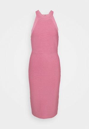 HALTER NECK DRESS - Tubino - pink rose