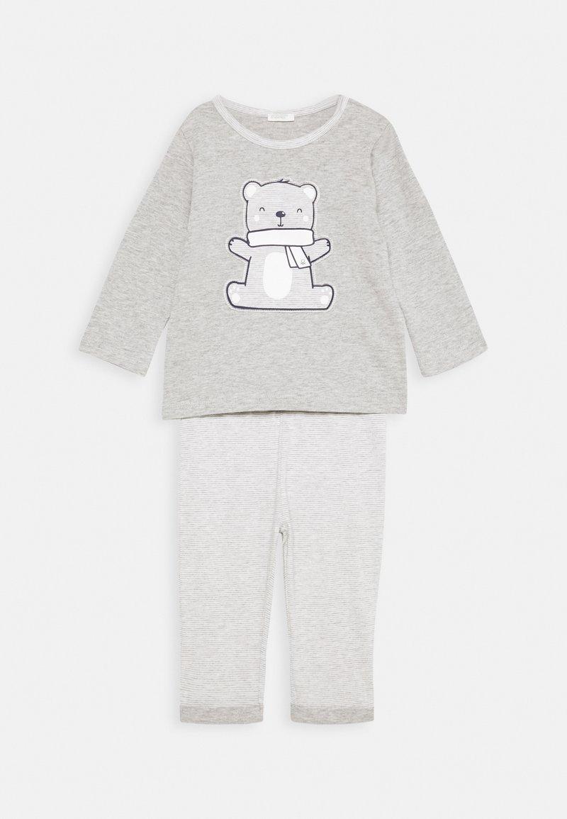 Benetton - TROUSERS SET UNISEX - Pyjama set - grey