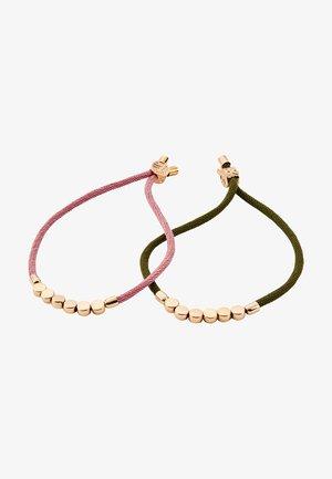 2 PACK - Bracelet - nude