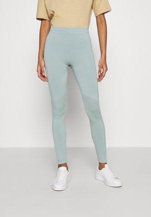 CELESTIA SEAMLESS TIGHTS - Leggings - Trousers - dusty turquoise