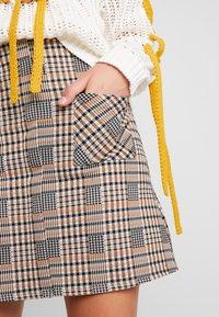 Dorothy Perkins - CHECK - A-line skirt - multi-coloured - 4