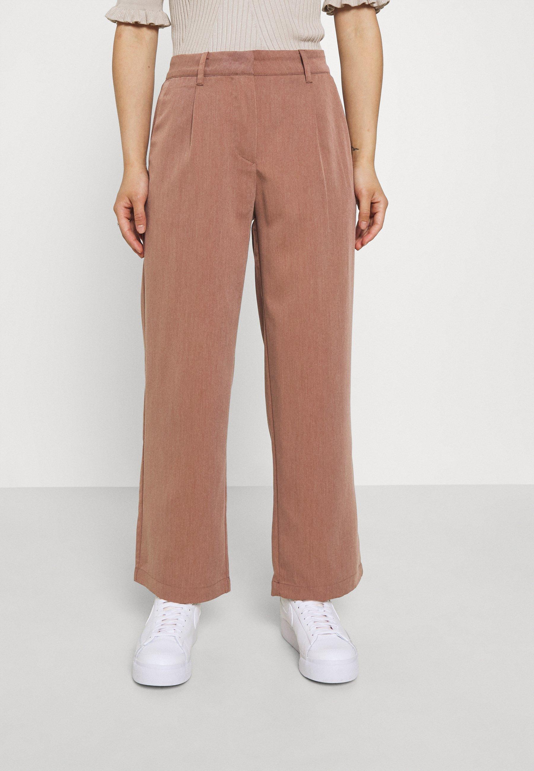 Damer NMALMOND DAD PANT PETITE - Bukser