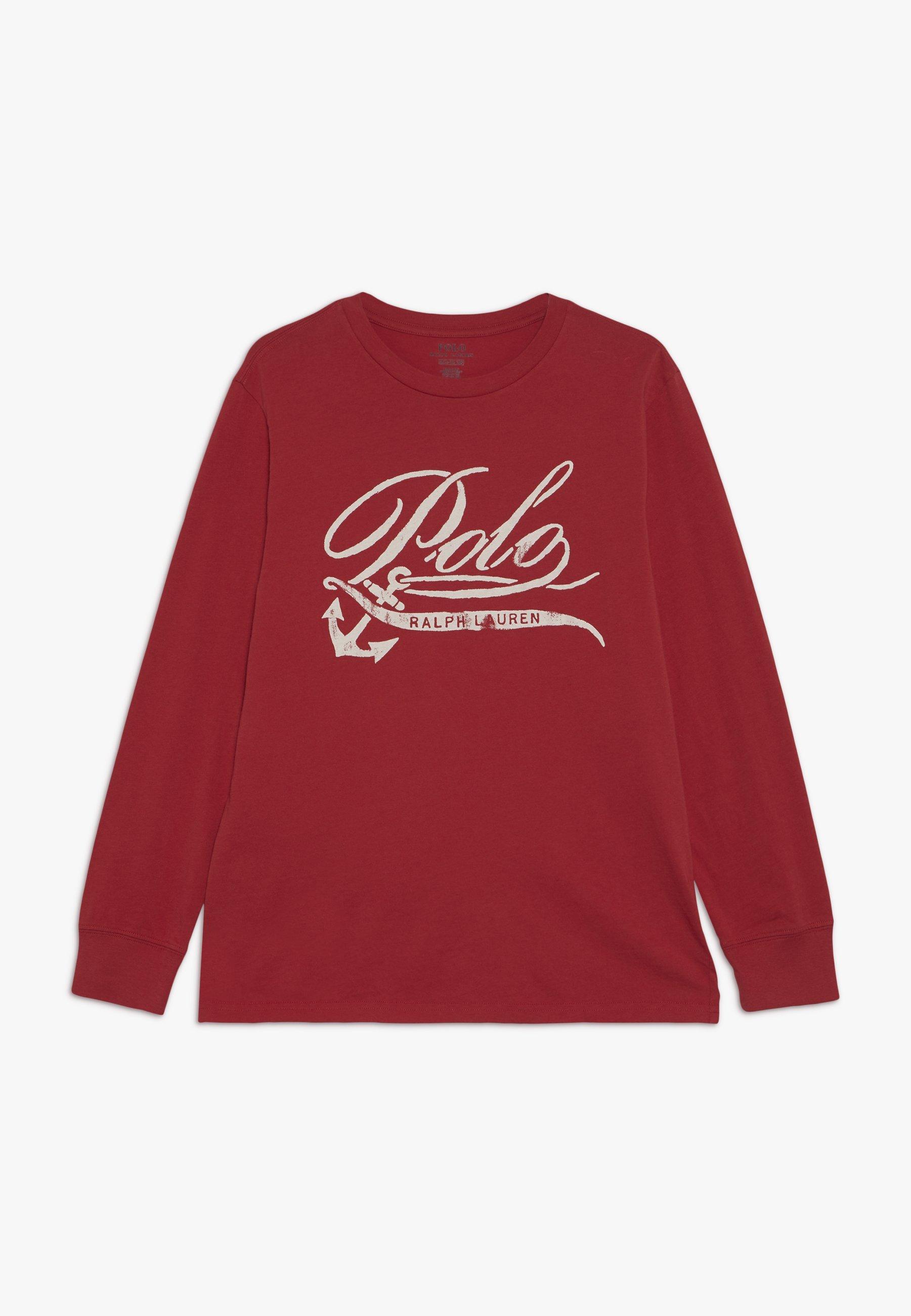 Große Förderung Polo Ralph Lauren Langarmshirt - sunrise red | Damenbekleidung 2020