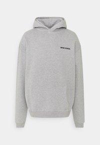 9N1M SENSE - LOGO HOODIE UNISEX - Sweatshirt - grey marl - 0