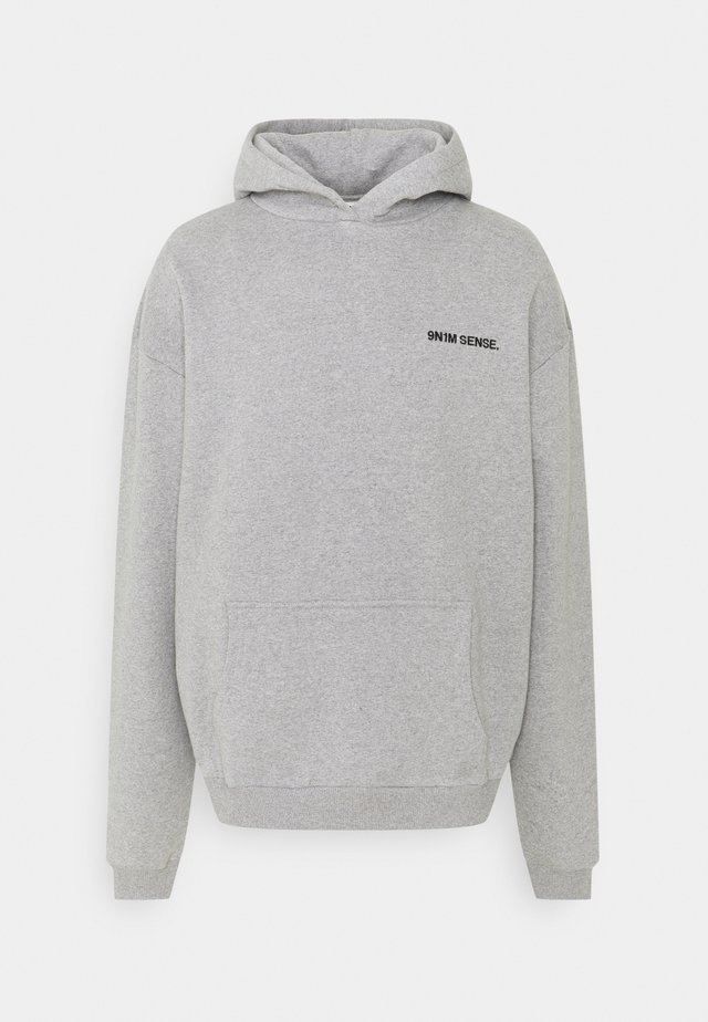 LOGO HOODIE UNISEX - Sweatshirt - grey marl