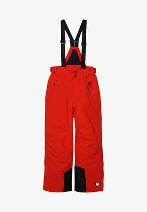 GAUROR UNISEX - Snow pants - dunkelorange