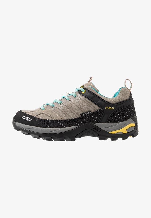RIGEL - Hiking shoes - corda/lemon