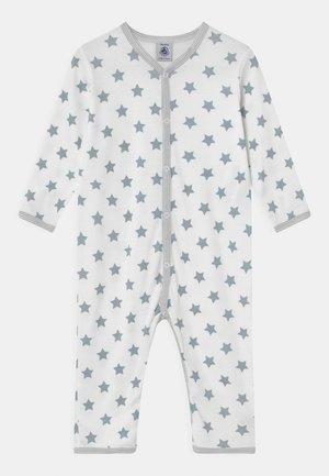 DORS BIEN SANS PIEDS UNISEX - Pyjamas - ecume/mistigri