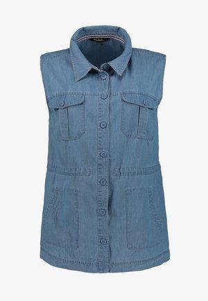Waistcoat - blue denim