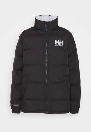 REVERSIBLE PUFFER JACKET - Winterjacke - black