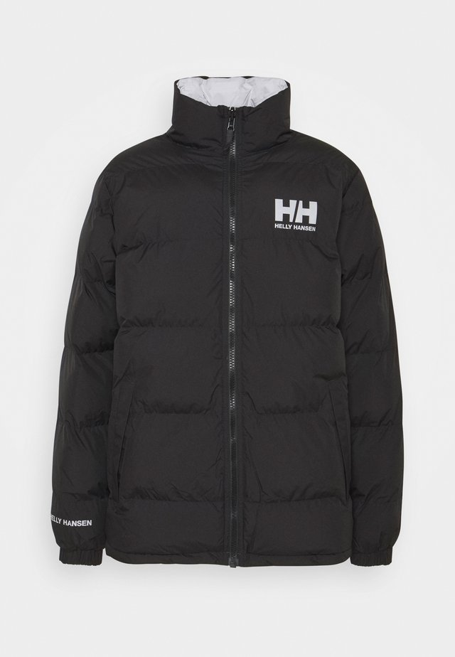 REVERSIBLE PUFFER JACKET - Chaqueta de invierno - black