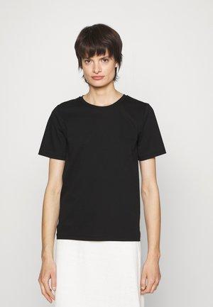 DEIRO - T-shirt basique - black