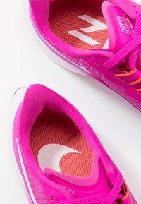 Nike Performance - AIR ZOOM PEGASUS 37 - Neutral running shoes - fire pink/white/team orange/magic ember - 6