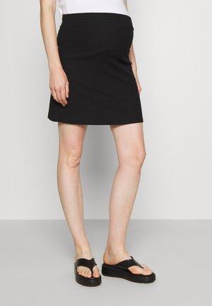 PCMRIBBI SKIRT - Mini skirt - black