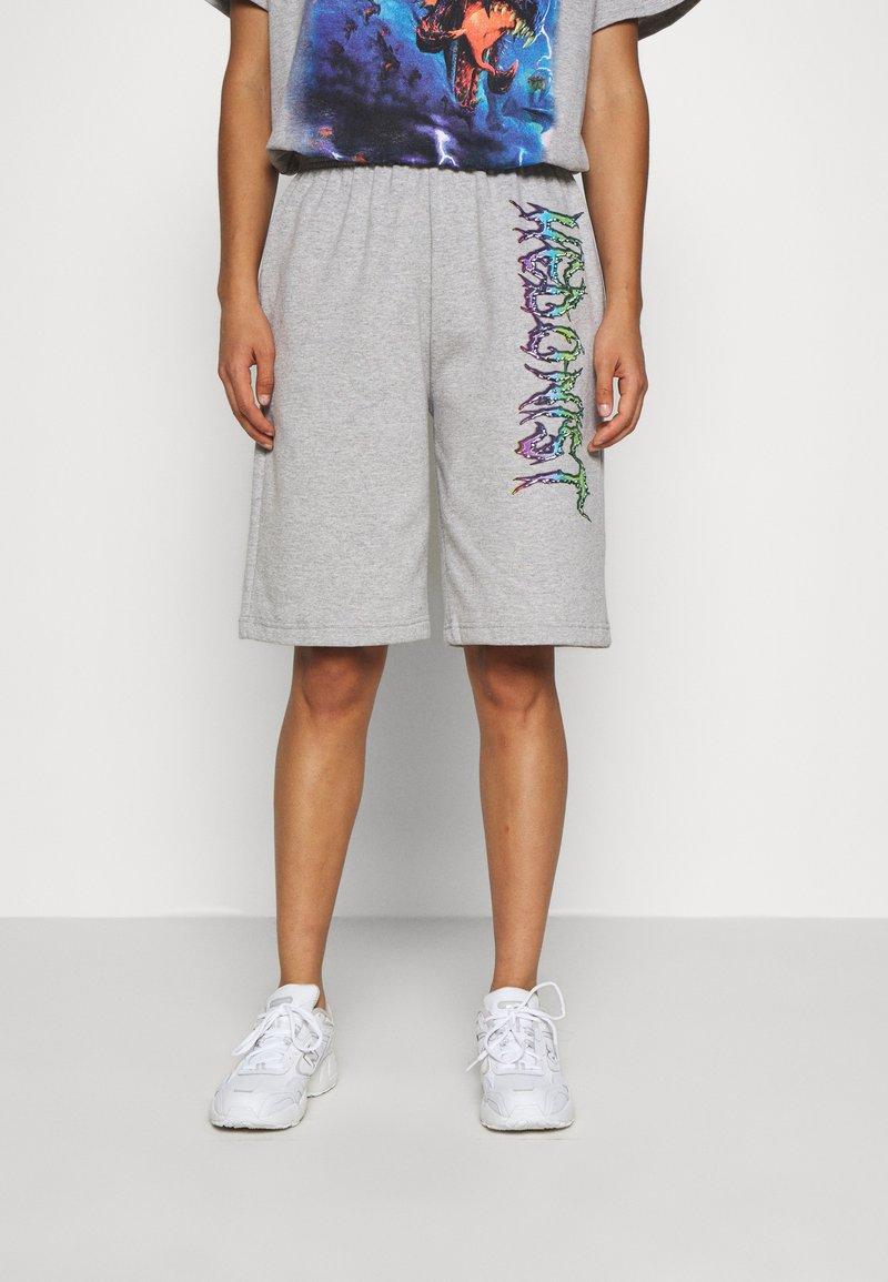 NEW girl ORDER - TIE DYE SPORT - Pantalones deportivos - grey