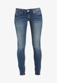 Tommy Jeans - LOW RISE SKINNY SOPHIE - Jeansy Skinny Fit - royal blue stretch - 5