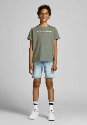 Print T-shirt - sedona sage