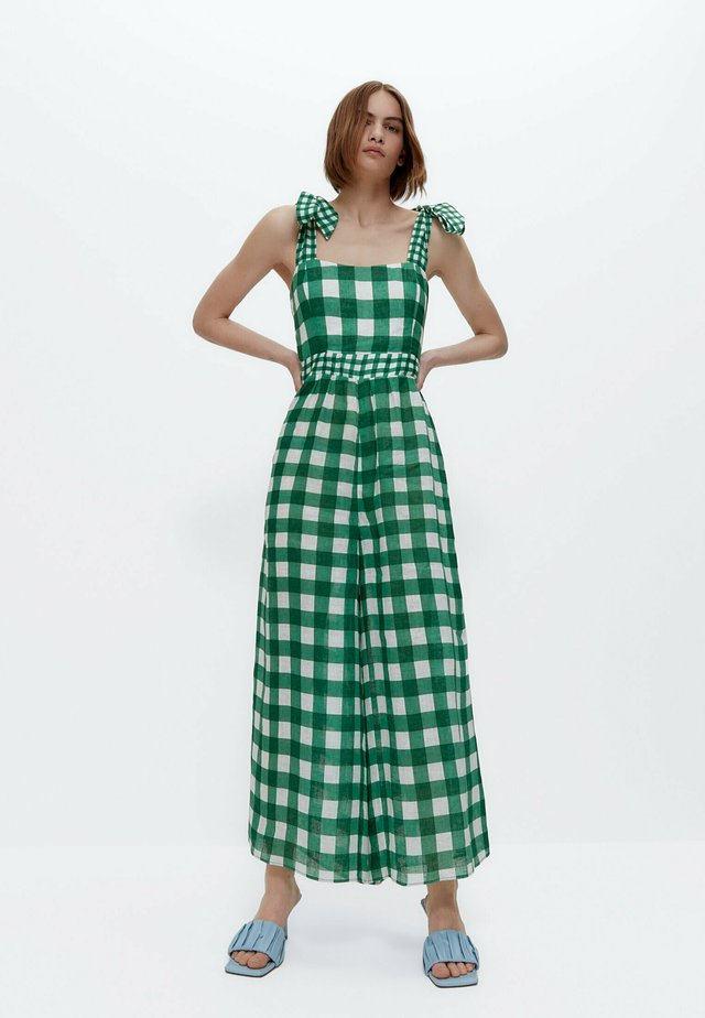Salopette - green