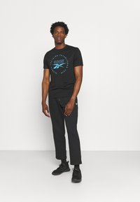 Reebok - IDENTITY - Pantaloni sportivi - black - 1