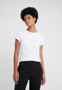 HUGO - THE PLAIN TEE - Basic T-shirt - white - 0