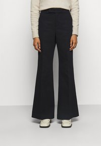 Polo Ralph Lauren - RELAXED WIDE LEG PANT - Trousers - black - 0