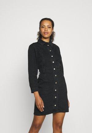 SIYAH - Denim dress - black
