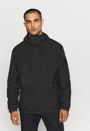 EARLE - Hardshell jacket - black
