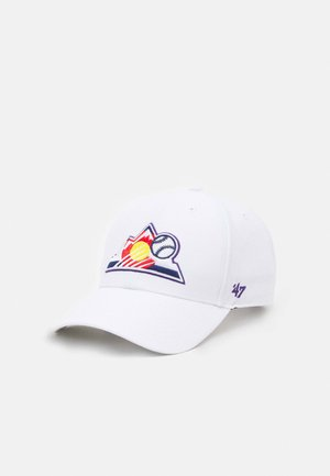 COLORADO ROCKIES UNISEX - Cap - white