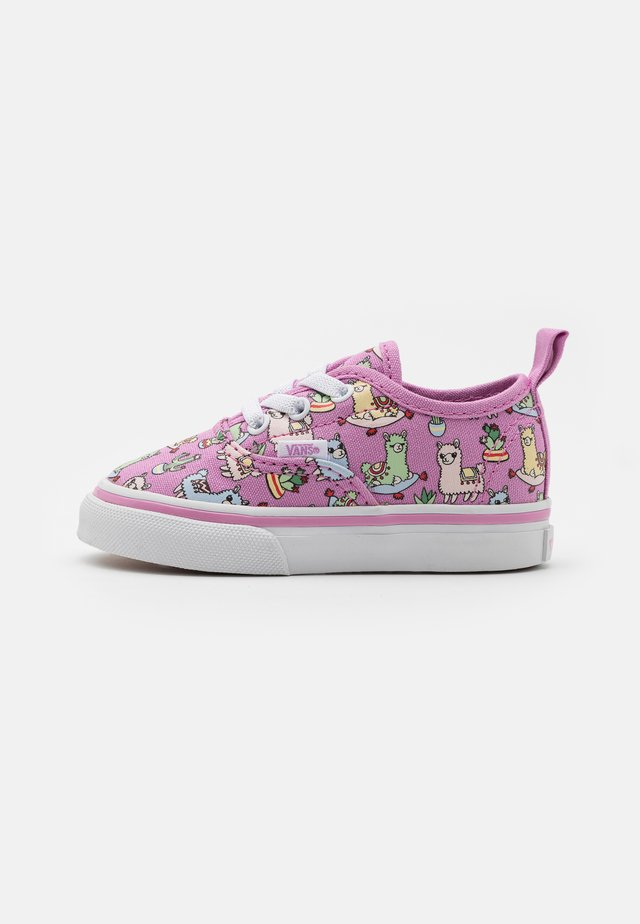 AUTHENTIC ELASTIC LACE - Sneakers laag - orchid/true white